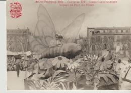C. P. - PHOTO - AIX EN PROVENCE - 1954 - CARNAVAL LIV - CORSO CARNAVALESQUE - VOYAGE AU PAYS DES FLEURS - HENRY ELY - Aix En Provence