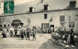 Ardennes - Le Moulin D'Olenne - Arrivée D'un Boulanger - Porteurs De Porteuses De Pain - Minoterie - Belle Animation - Sonstige Gemeinden
