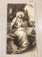 Santino In Ricordo Della Prima Messa Solenne Di Don Amos Babini In S. Lorenzo Di Lugo (ra) - Santini