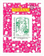 Marianne De Ciappa Et Kawana Adhesif 864A - Sellos Personalizados (MonTimbraMoi)