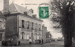 36 Ambrault, La Gendarmerie - Francia
