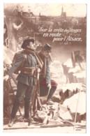 CPA SUR LA CRETE DES VOSGES 1918 - 1914-18