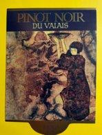 12218 -  6 Magnifiques étiquettes Caves Imesch Sierre (année 1983) - Art