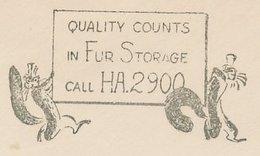 Meter Cut USA 1941 Stoat - Weasel - Fur - Briefmarken