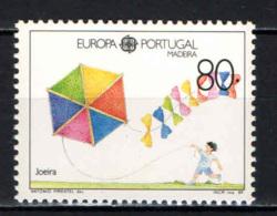 MADEIRA - 1989 - EUROPA CEPT - GIOCHI INFANTILI - AQUILONE ESAGONALE - MNH - Madeira
