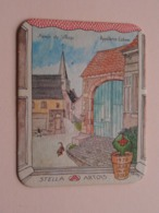 1978 Jaar Van Het Dorp APPELTERRE-EICHEM Stella Artois ( Sous Bock / Coaster / Onderlegger ) Zie Foto's Voor Detail ! - Sous-bocks