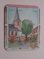 1978 Jaar Van Het Dorp LEEFDAAL Stella Artois ( Sous Bock / Coaster / Onderlegger ) Zie Foto's Voor Detail ! - Sous-bocks