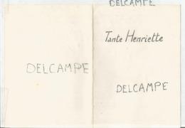 Mariage De Cécile Et Arthur Le 11 Février 1961 - Menus