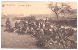 ARMEE BELGE COMPANIE AU REPOS - 1914-18
