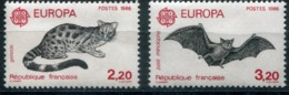 EUROPA CEPT 1986 FRANCE YVERT N°2416/2417 Protection De La Nature ** - Europa-CEPT