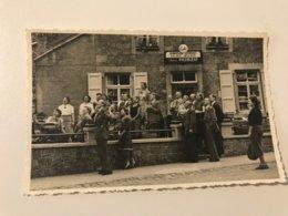 Carte Postale R.C. HUY Café - Alimentation Générale Rassemblement De Personnes - Hoei