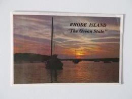 CPA.- Rhode Island The Ocean State , 1984 - Verenigde Staten