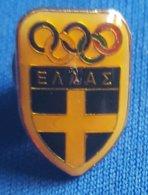 OLYMPIC GAMES,  GREECE NOC  Badge / Pin - Olympische Spelen