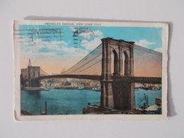CPA.- Brooklyn Bridge , 1927 - Brooklyn