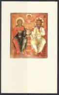 30067/2 Nieuw-Testamentishe Triniteit Rusland - Altre Collezioni