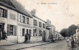 60 Crouy, La Grande Rue - Francia