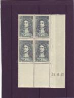 N° 397 - 55c LA FONTAINE - Tirage Du21.6.38 Au 5.7.38 - 28.06.1938 - - Coins Datés