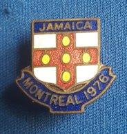 OLYMPIC GAMES, MONTREAL 4976. JAMAICA NOC  Enamel Badge / Pin - Olympische Spelen