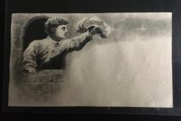 Paris Bonnet Confiseur Place De La Bourse Chromo Demi Calendrier 1883 Marmiton - Altri