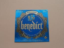 HOEGAARDEN > BENEDICT 33Cl - 7% Vol. ( Zie / Voir / See / Zie Foto ) ! - Bière