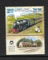 ISRAEL 2011 TRAINS   YVERT N°2158 AVEC TAB NEUF MNH** - Trains