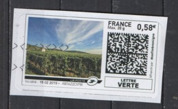 2015   Dans Les Vignes - 2010-... Illustrated Franking Labels