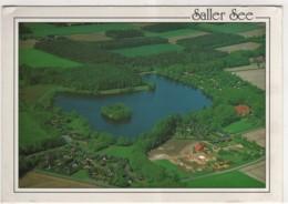 Lengerich Im Emsland - Der Saller See Zwischen Freren Und Lengerich   Großbildkarte - Lengerich