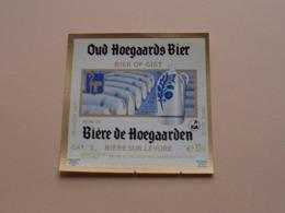 OUD HOEGAARDS BIER > Bière De Hoegaarden / Bière Sur Levure 33Cl - 5 % Vol. ( Zie / Voir / See / Zie Foto ) ! - Bière