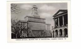 TORONTO, Ontario, Canada, Canada Life Building & Osgoode Hall, 1951 Real Photo Postcard - Toronto