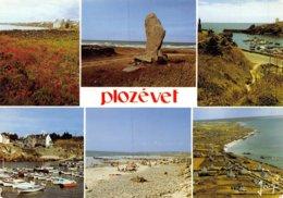 PIE-Z AR-19-1950 : PLOZEVET. VUES MULTIPLES. - Plozevet