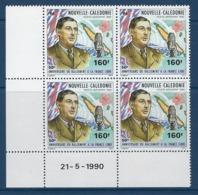 "Nle-Caledonie Coins Datés Aerien YT 267 (PA) "" Gal De Gaulle "" Neuf** Du 21.5.90 - Ongebruikt"