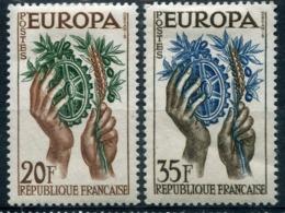France - Europa CEPT 1957 - Yvert Nr. 1122/1123 - Michel Nr. 1157/1158 ** - Europa-CEPT