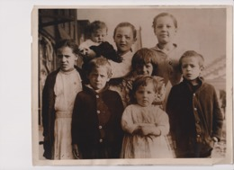 FAMILY SOUTH CHICAGO STEEL STRIKER  USA STRIKE +- 25*20CMFonds Victor FORBIN (1864-1947) - Fotos
