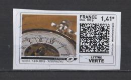 2015   Horloge - 2010-... Illustrated Franking Labels