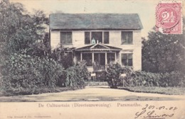 279/ Kolonie Suriname, De Cultuurtuin ( Directeurswoning) Paramaribo, 1905 - Suriname