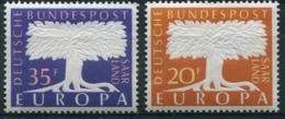 Sarre - Europa CEPT 1957 - Yvert Nr. 384/385 - Michel Nr. 402/403 ** - Europa-CEPT
