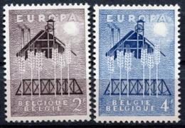 Belgique - Europa CEPT 1957 - Yvert Nr. 1025/1026 - Michel Nr. 1070/1071 ** - 1957