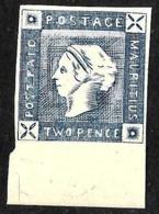 502 - MAURITIUS ISLANDS - 1850 - LAPIROT ISSUE - FORGERY - FAUX - FAKE - FALSE - Briefmarken