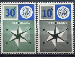 Pays Bas - Europa CEPT 1957 - Yvert Nr. 678/679 - Michel Nr. 704/705 ** - Europa-CEPT