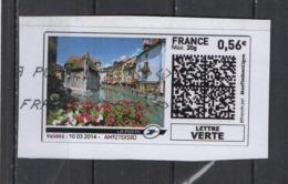2014   Maisons Le Long De La Rivière - 2010-... Illustrated Franking Labels