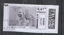 2014   Roses Argentées - 2010-... Illustrated Franking Labels