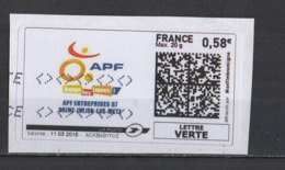 2015   APF  St Julien Les Metz - 2010-... Illustrated Franking Labels