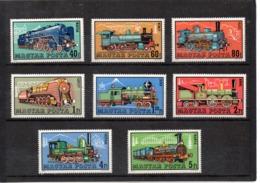Hungria Nº 2209-19 Trenes, Serie Completa En Nuevo 7,50 € - Trenes