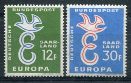 SARRE- Europa CEPT 1958- Série Neuve Xx N°421/22 - Europa-CEPT