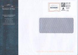 Schweiz Bösingen Webstamp Standard Hesche Schade? Auto Autospritzwerk Tinguely - Poststempel