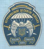 UKRAINE / Patch, Abzeichen, Parche, Ecusson / Airborne Amphibious Troops. 1990s - Patches