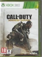 Jeu XBOX 360  CALL OF DUTY Advanced Warfare   Etat: TTB    Port 110 Gr - X-Box