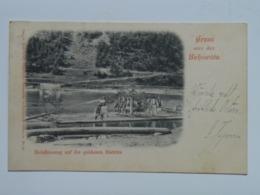 Ukraine Bukowina F6  Bistritz Ed Konig No 66 Gruss Czernowitz Cernauti 1905 - Ukraine