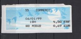 1999  Commercy - 1990 «Oiseaux De Jubert»