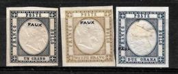 603 -  ITALY - NAPLES - 1861 - PROVINCES - FORGERIES, FALSES, FALSCHEN, FAKES, FALSOS - Collections (sans Albums)